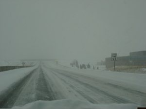 Our blizzard conditions in Colorado