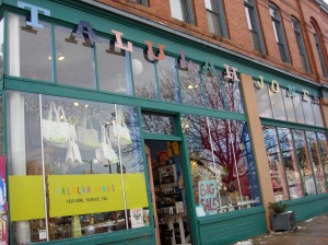 Talulah Jones Denver Colorado was a super cute eclectic store that ordered Sama Baby on the spot!